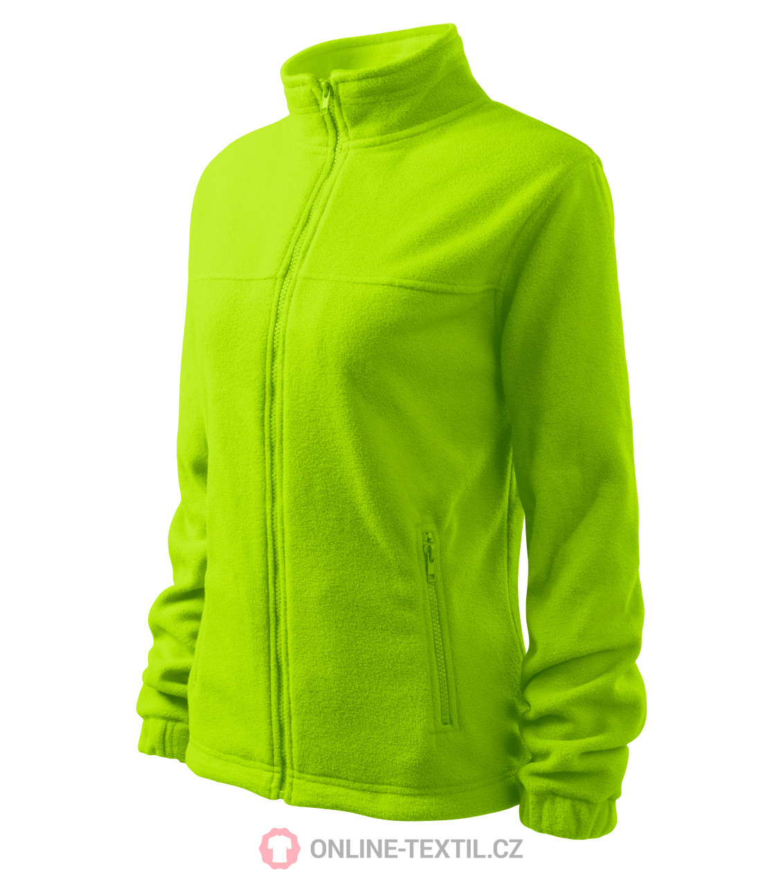 ADLER CZECH Dámská fleece bunda mikina Fleece Jacket 504 - limetková ... 18ce928ae0
