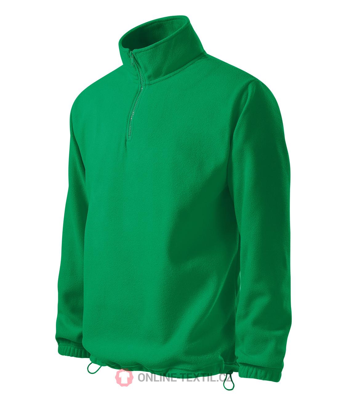 a72f09dedeed ADLER CZECH Pánská fleece bunda mikina Horizon s krátkým zipem 520 ...