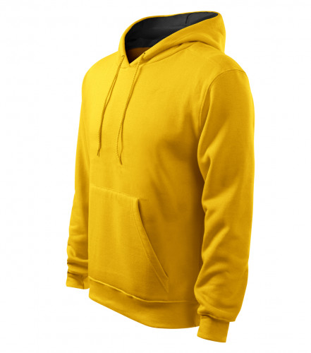 ADLER CZECH Mikina pánská Hooded Sweater s kapucí 405 - žlutá z ... 339ce67693