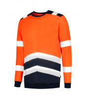 Sweater High Vis Bicolor mikina unisex
