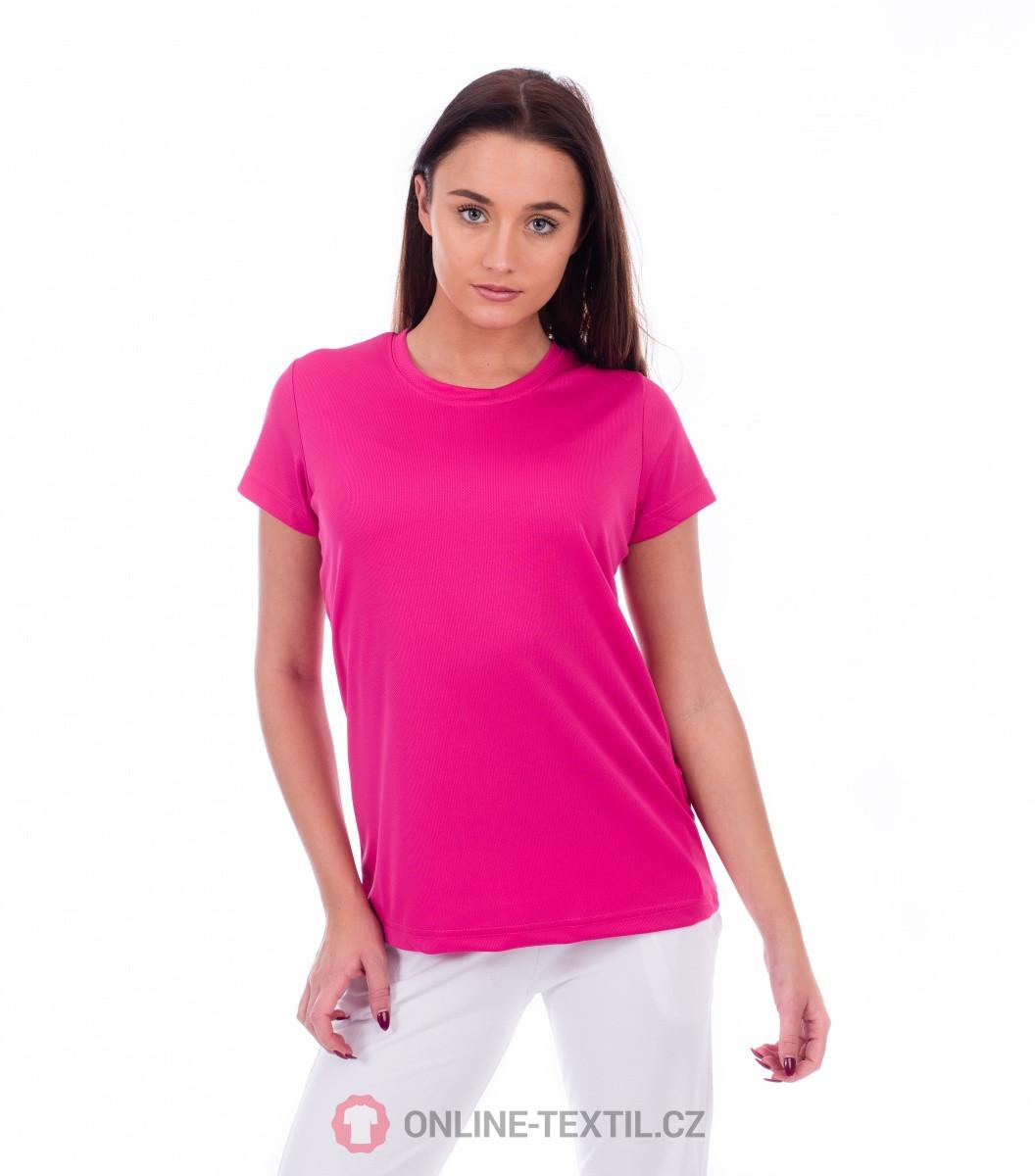 ADLER CZECH Dámské sportovní tričko Fantasy 140 - purpurová z ... 2ee7e60b0d