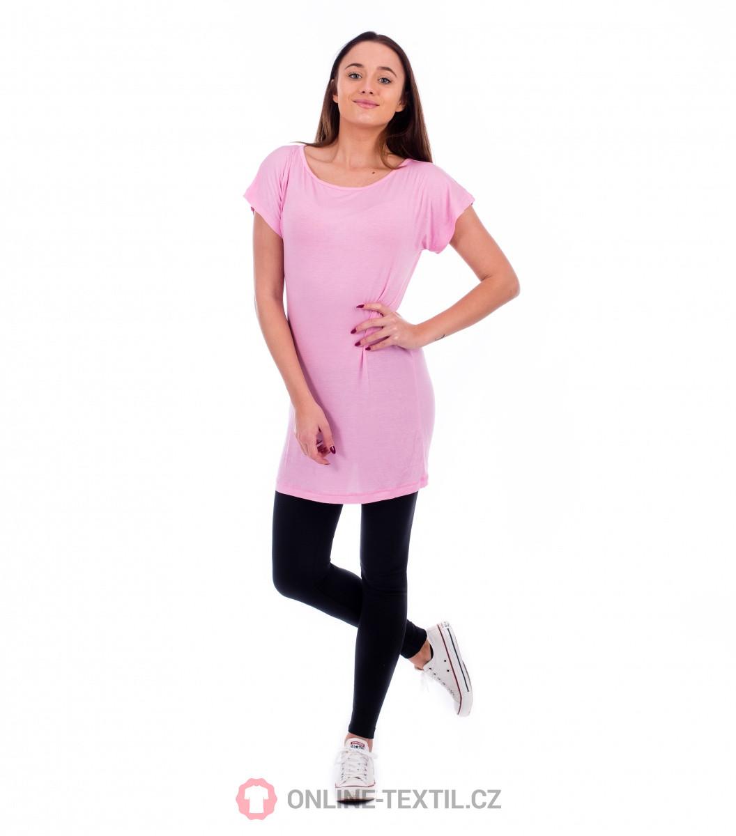 f4f76bf613 ADLER CZECH Love tričko šaty dámské 123 - růžová z kolekce MALFINI ...