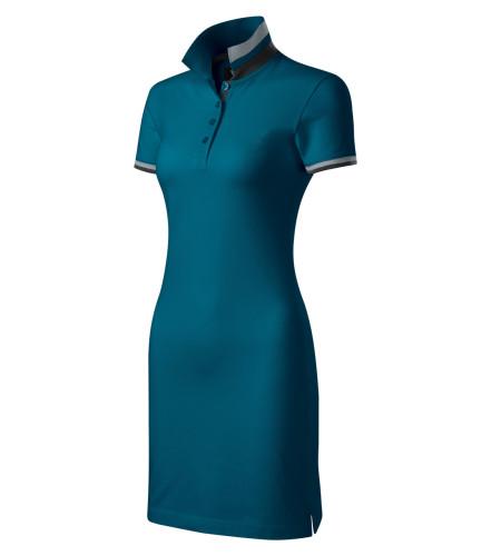 Prémiové dámské bavlněné šaty Dress up vyšší gramáže