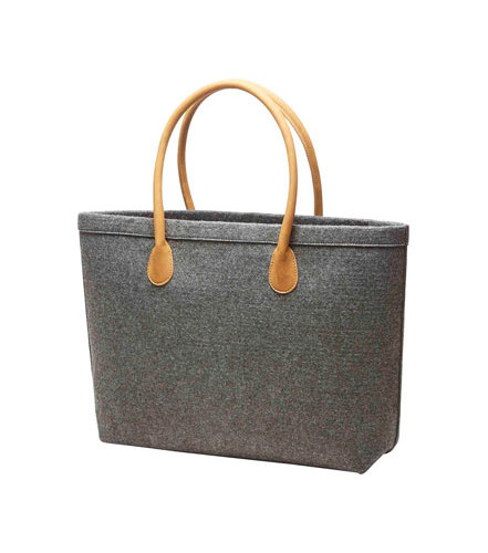 e0f603f9b4 Halfar Prémiová nákupní taška Classic 1809792 - antracitový melír z ...