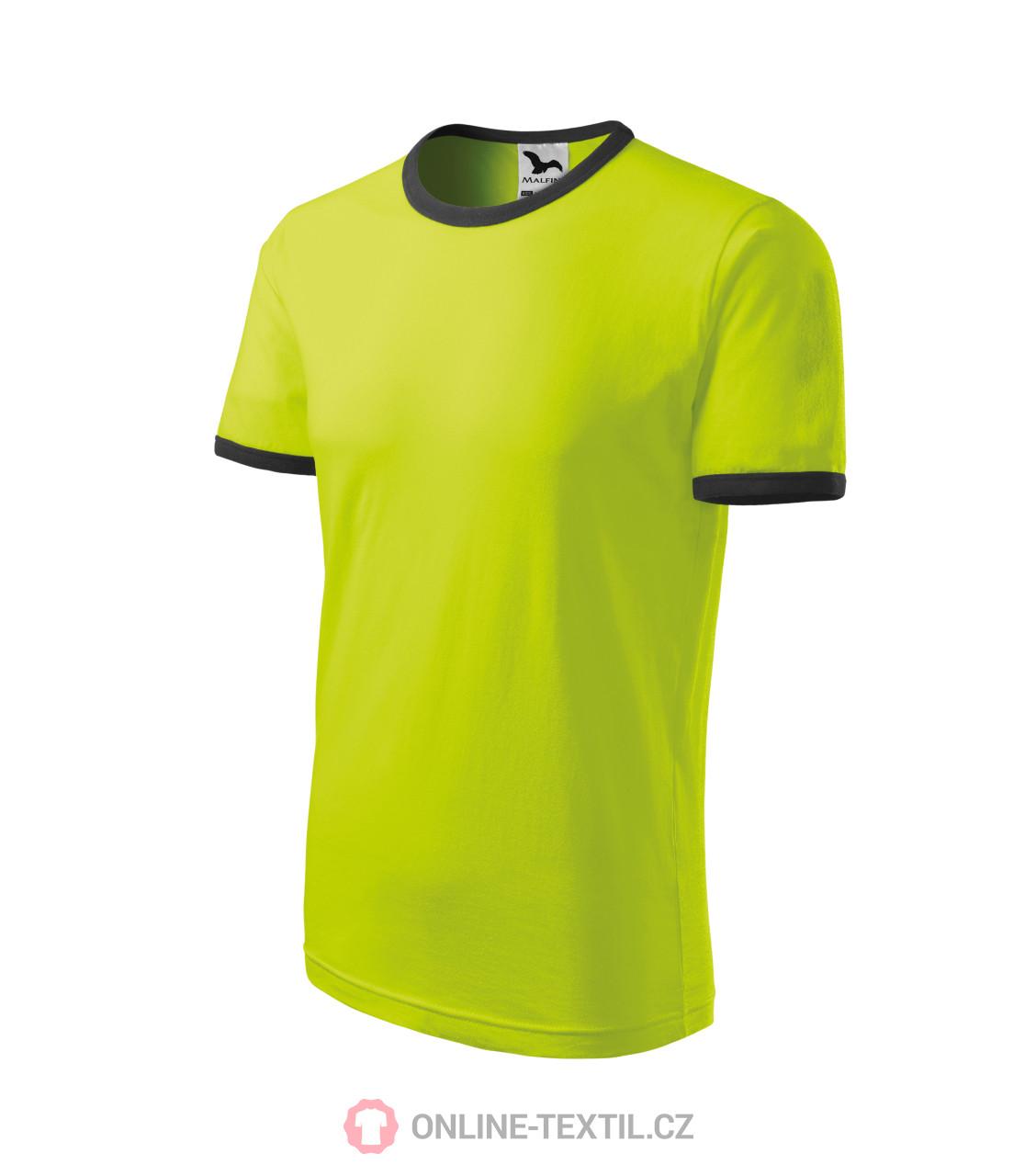 54c6825654 ADLER CZECH Infinity tričko dětské vyšší gramáže 148 - limetková z ...