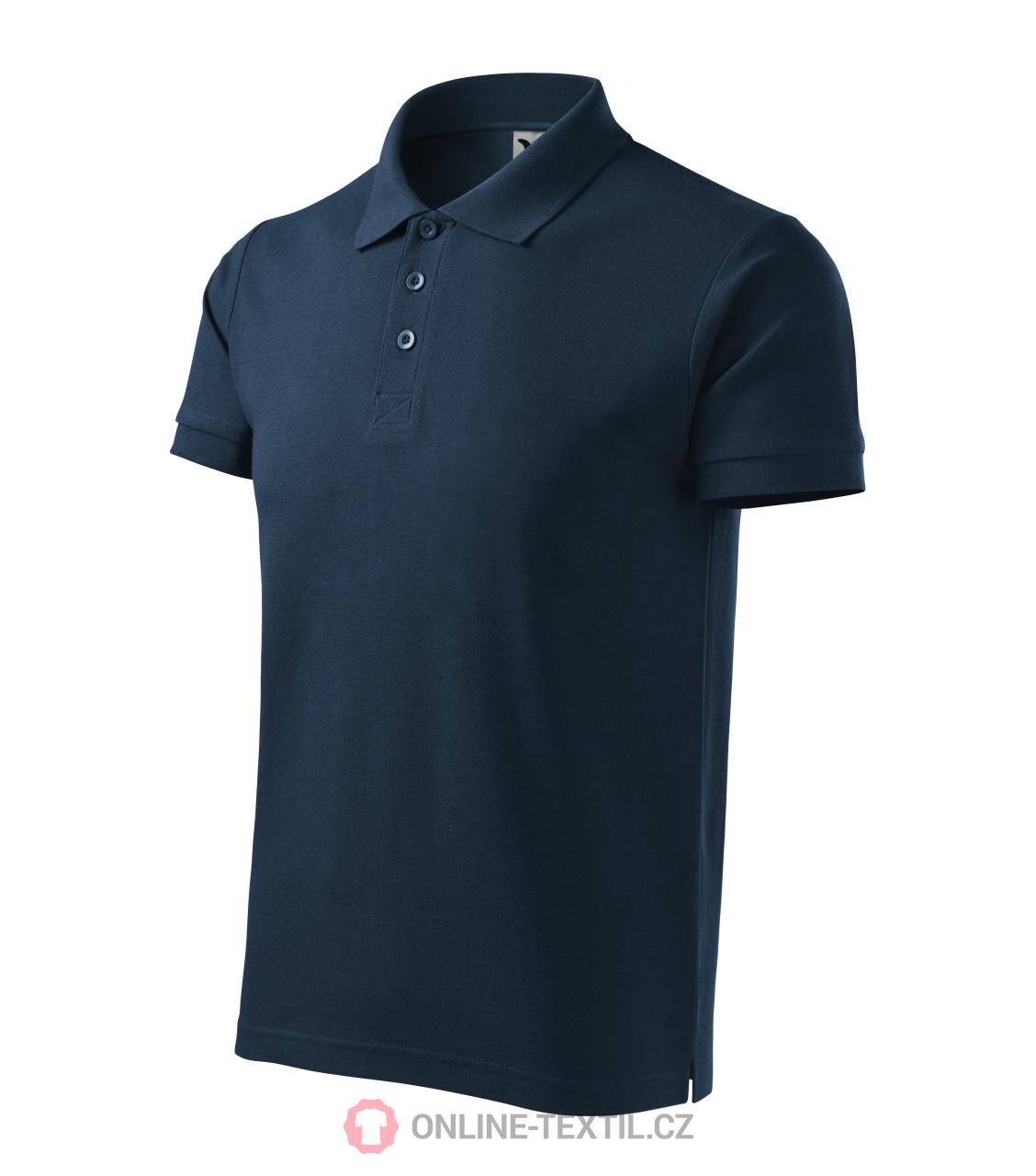 ADLER CZECH Bavlněná pánská polokošile Cotton 212 - námořní modrá z ... ae256522a3