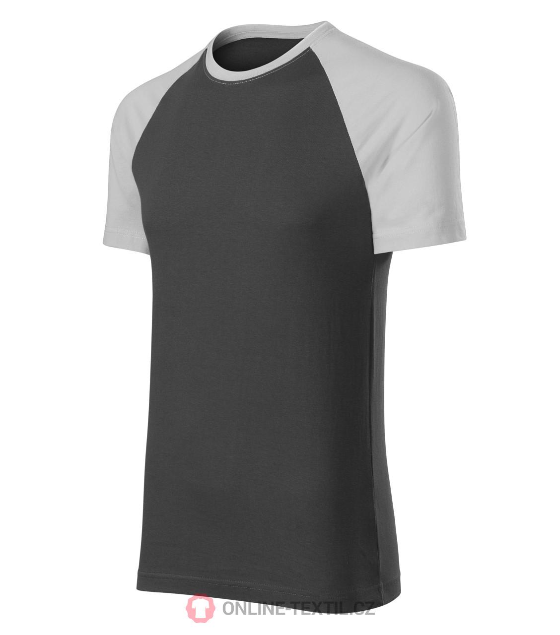 527921575fdb ADLER CZECH Dvoubarevné tričko Duo unisex 1L3 - ledově šedá z ...