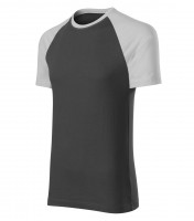 Dvoubarevné tričko Duo unisex
