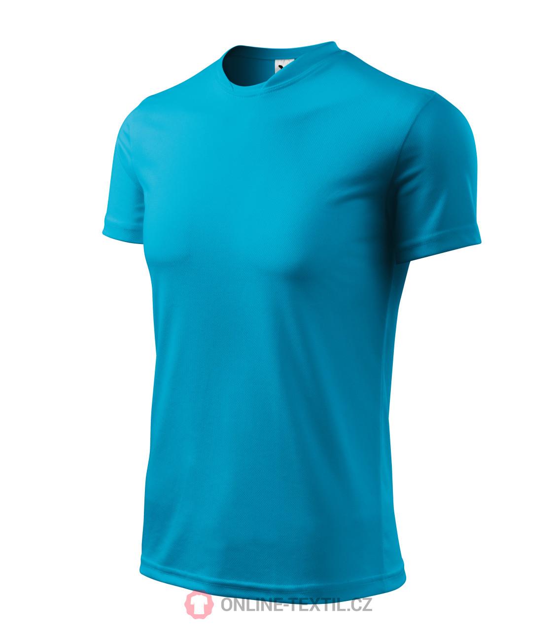1bd85395095f ADLER CZECH Sportovní tričko Fantasy 124 - tyrkysová z kolekce ...