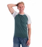 Dvoubarevné tričko Duo unisex VÝPRODEJ