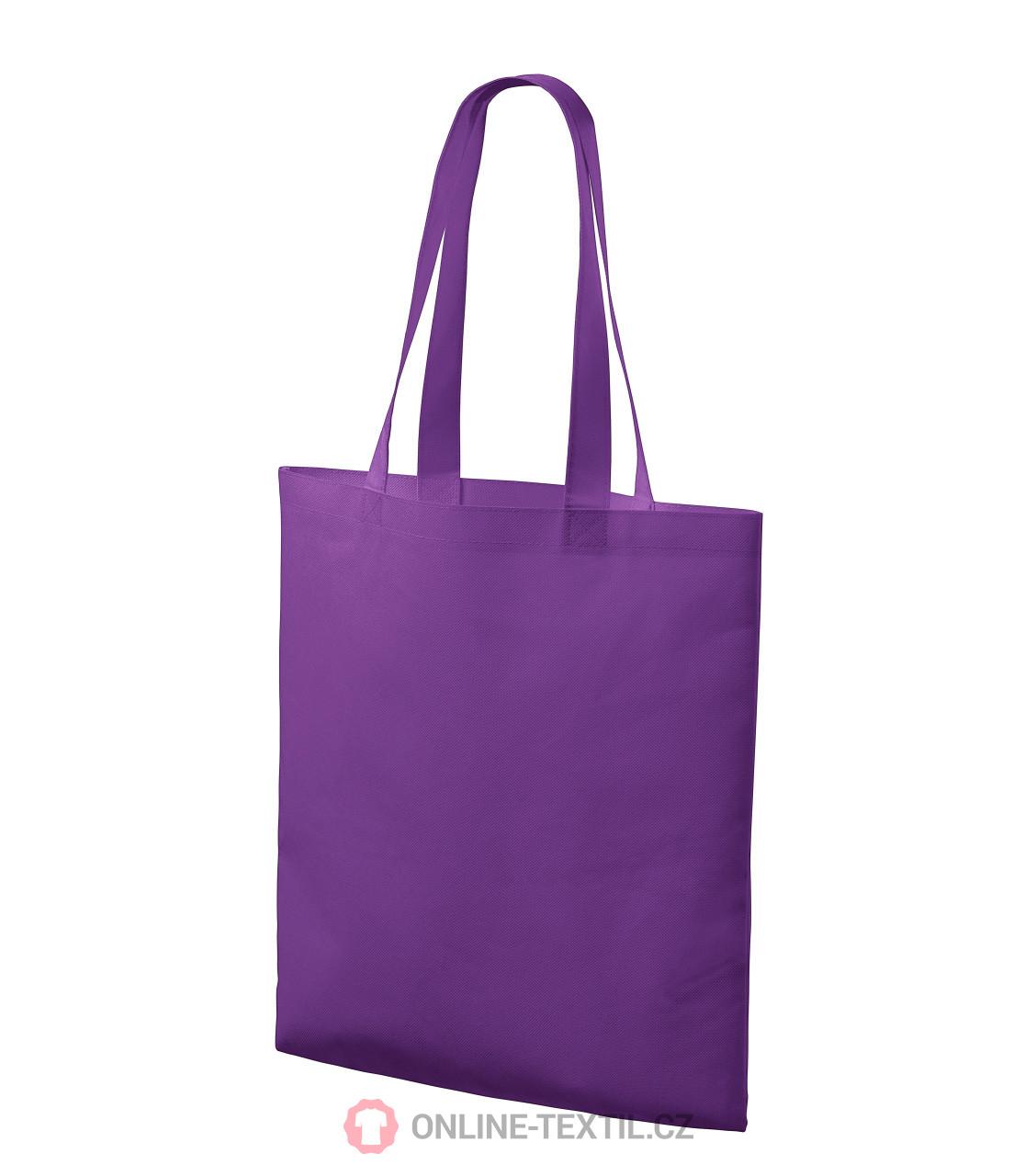 0ca57ed4ff3 ADLER CZECH Bloom nákupní taška z netkané textilie P91 - fialová z ...