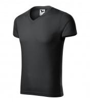 Slim Fit V-neck tričko pánské