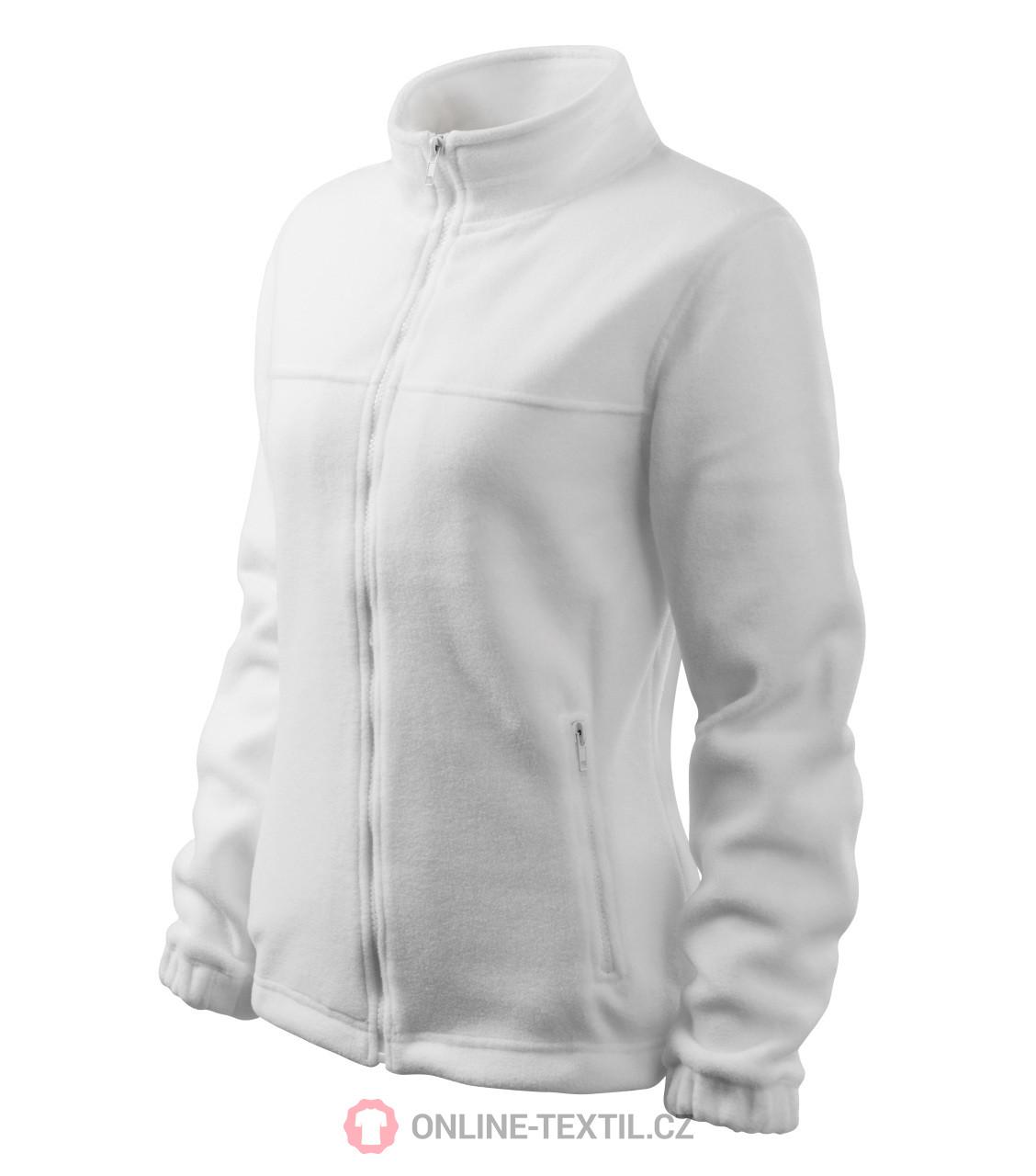 9c024b3cf078 ADLER CZECH Dámská fleece bunda mikina Fleece Jacket 504 - bílá z ...
