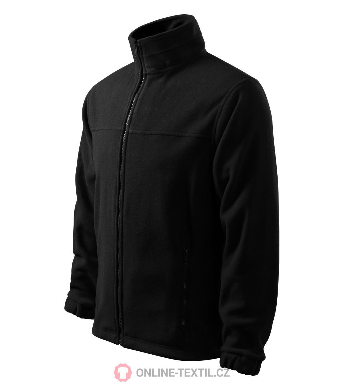 30c7f6893fe3 ADLER CZECH Pánská fleece bunda mikina Fleece Jacket 501 - černá z ...