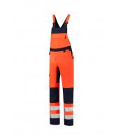 Bib & Brace High Vis Bicolor pracovní kalhoty s laclem unisex