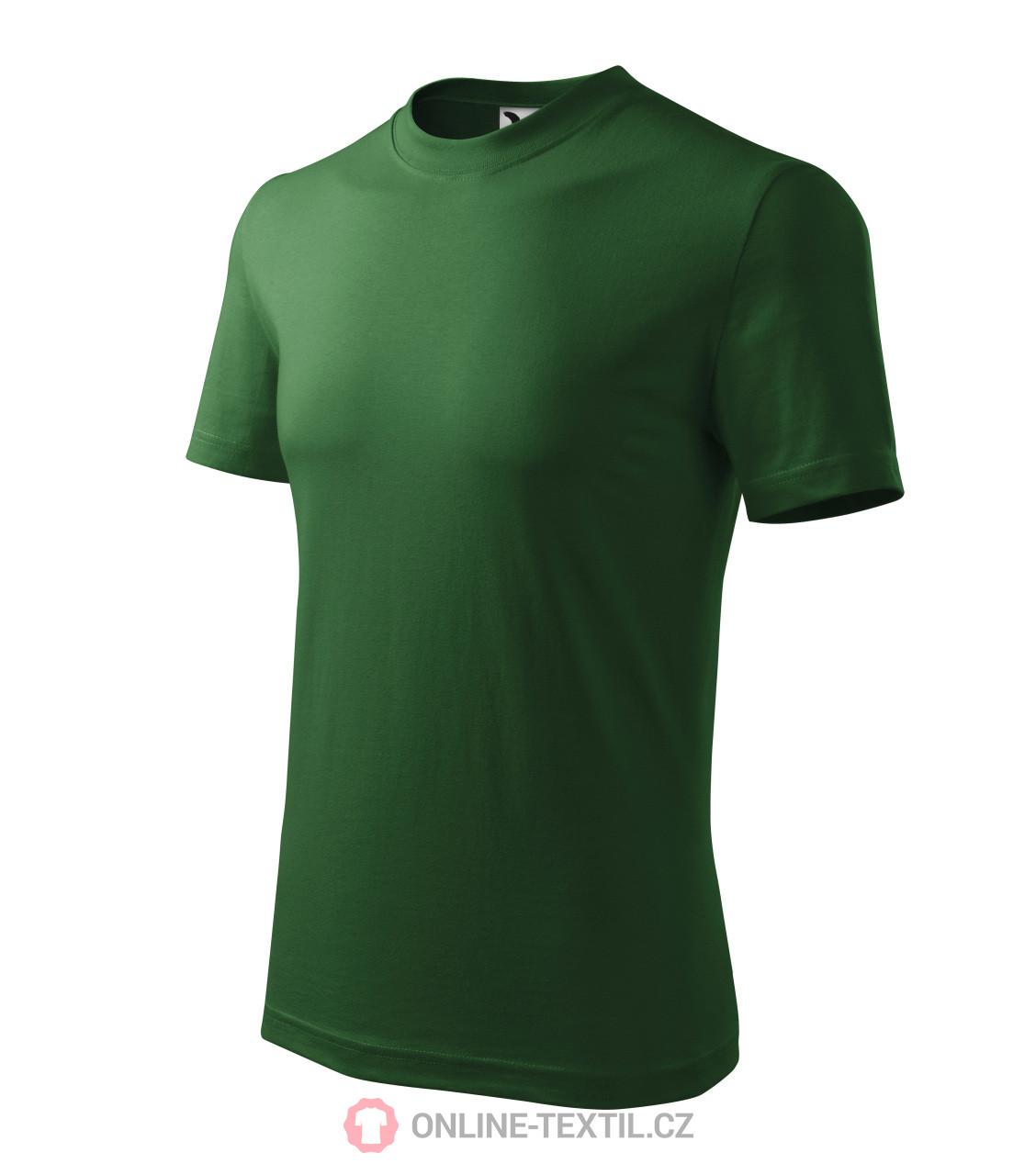 ADLER CZECH Tričko Heavy vyšší gramáže 110 - lahvově zelená z ... 1d7e8bc954