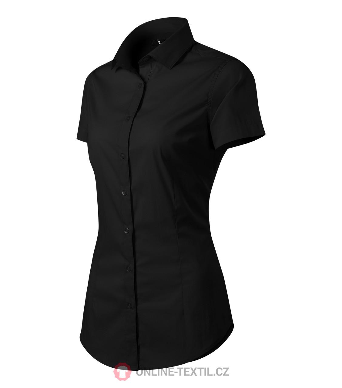 965f8486991 ADLER CZECH Dámská košile Malfini Premium Flash 261 - černá z ...
