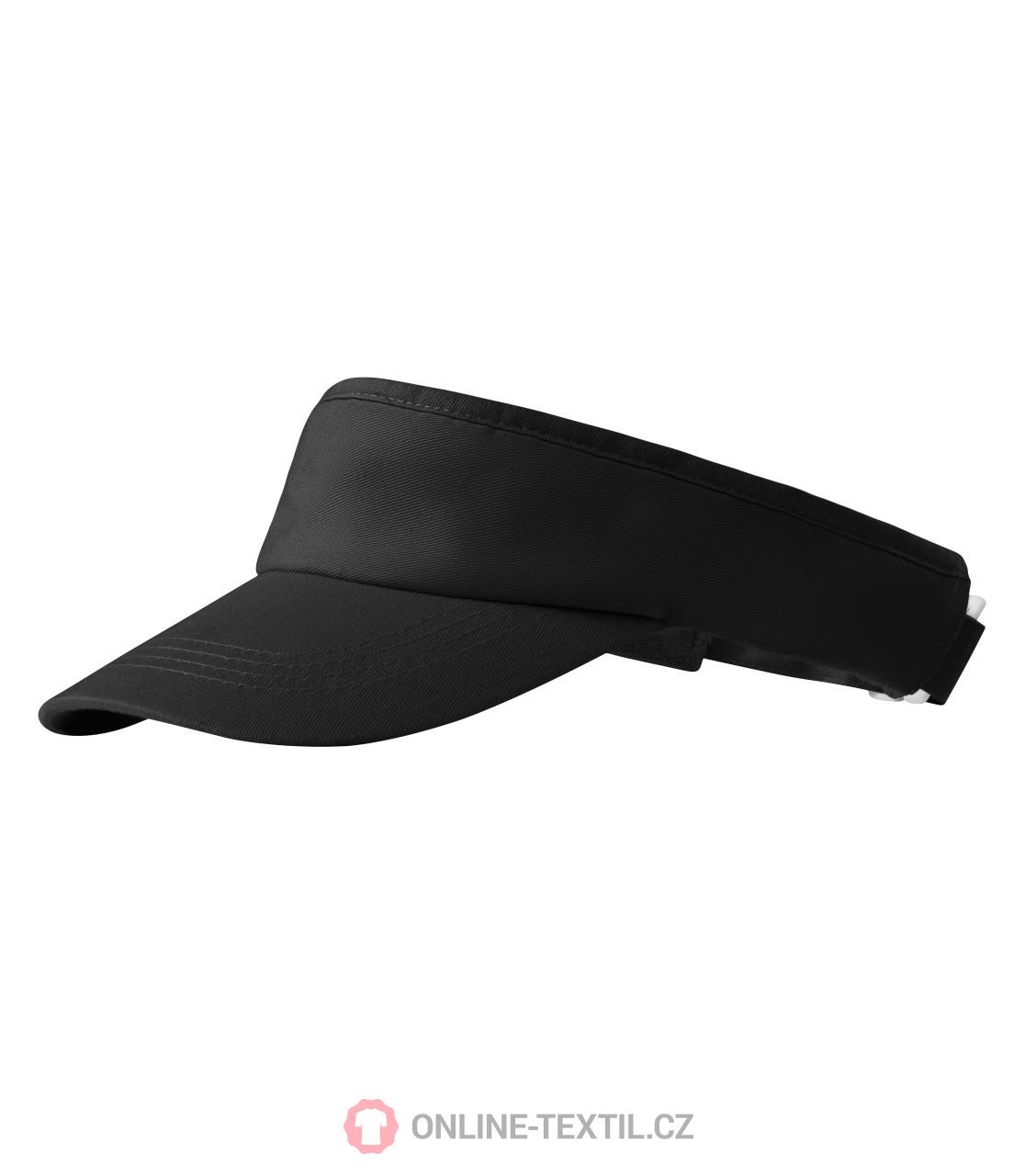 ADLER CZECH Kšilt Sunvisor 310 - černá z kolekce MALFINI  fe50cb795b