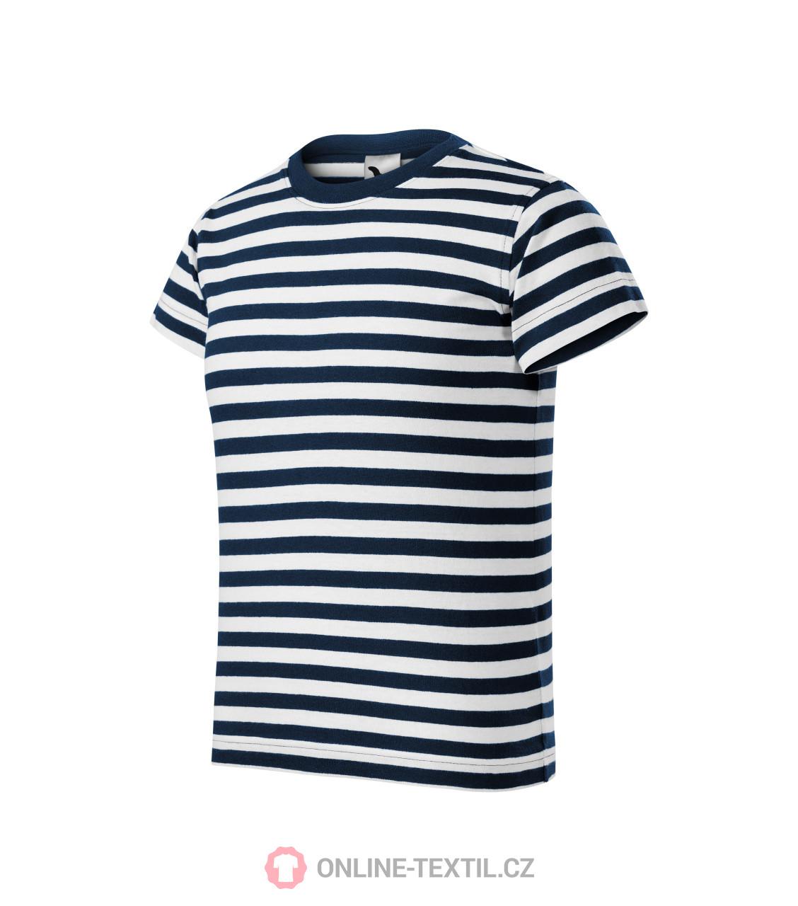 cafb6efd3 ADLER CZECH Dětské námořnické tričko Sailor 805 - námořní modrá z ...
