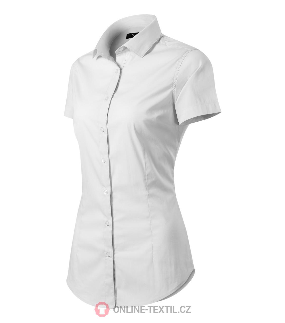 ADLER CZECH Dámská košile Malfini Premium Flash 261 - bílá z kolekce ... 3fbd50d513