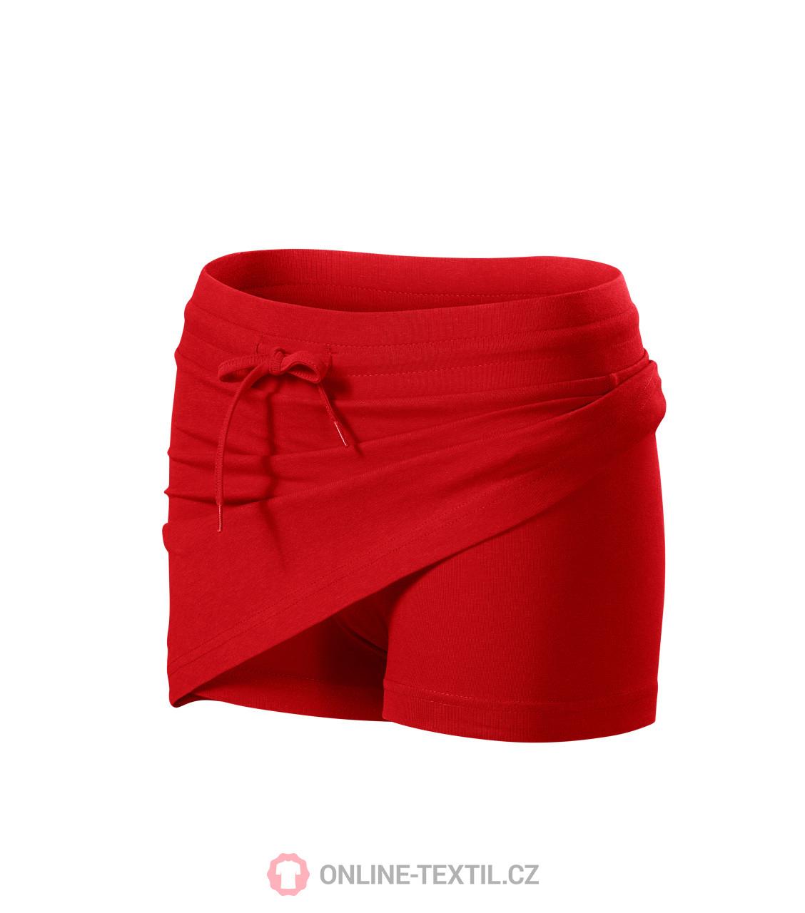 ADLER CZECH Sukně dámská Skirt two in one 604 - červená z kolekce ... 1824f8f234