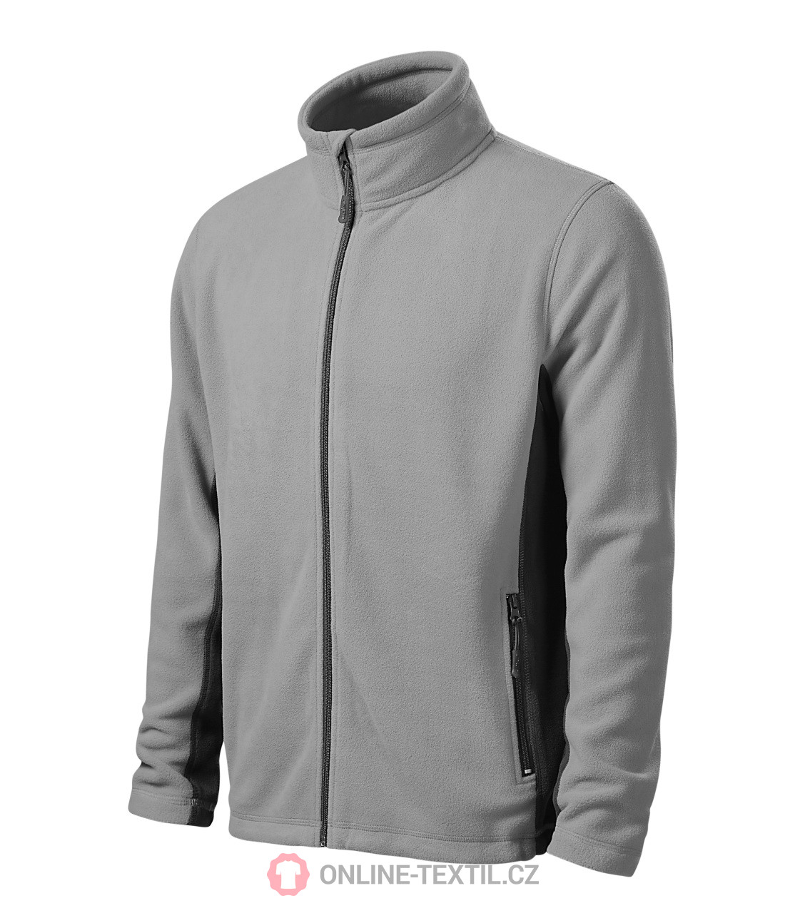 ADLER CZECH Pánská fleece bunda mikina Frosty 527 - světle šedá z ... 205765b23eb