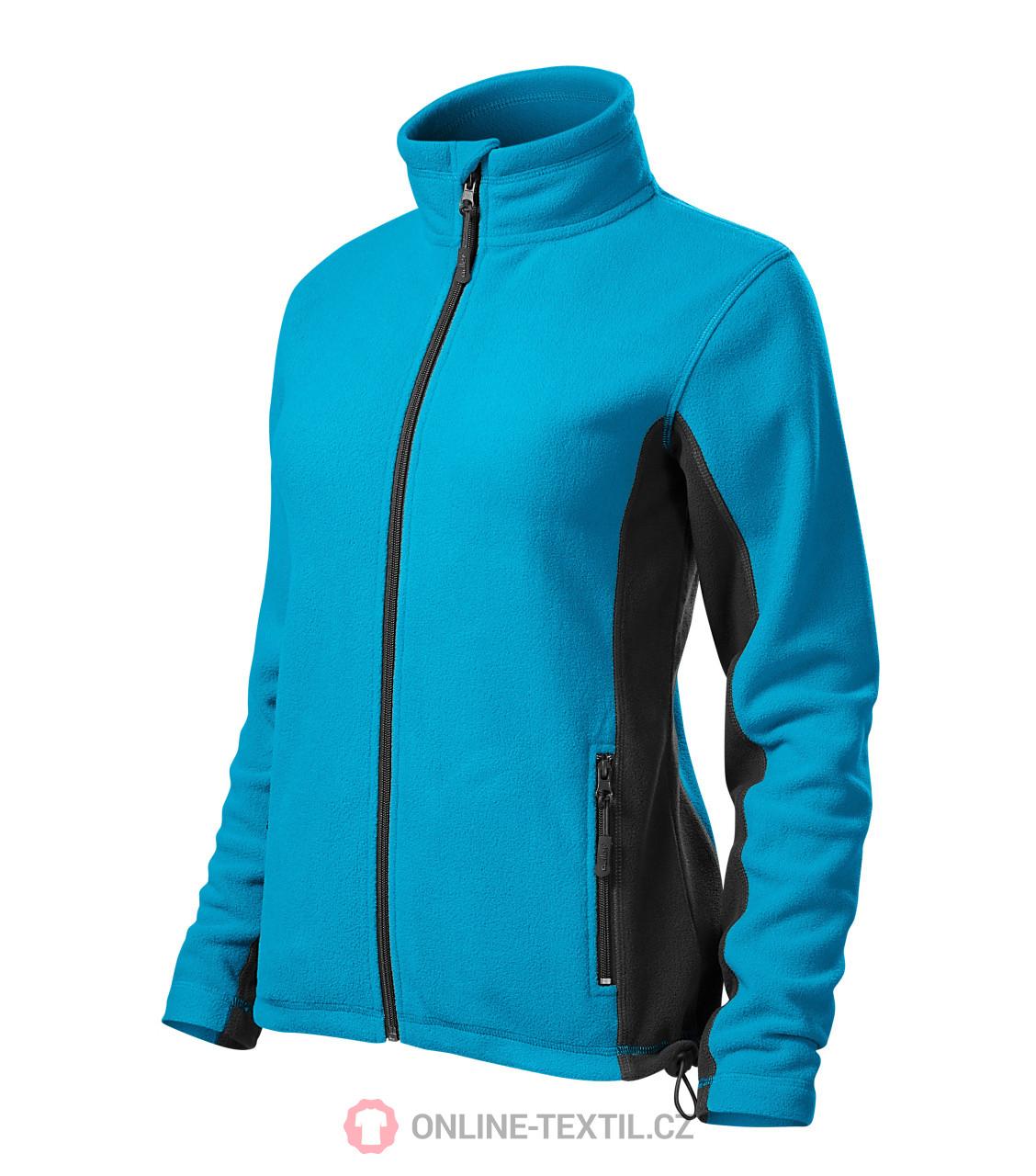 ADLER CZECH Dámská fleece bunda mikina Frosty 528 - tyrkysová z ... ca3a48323e