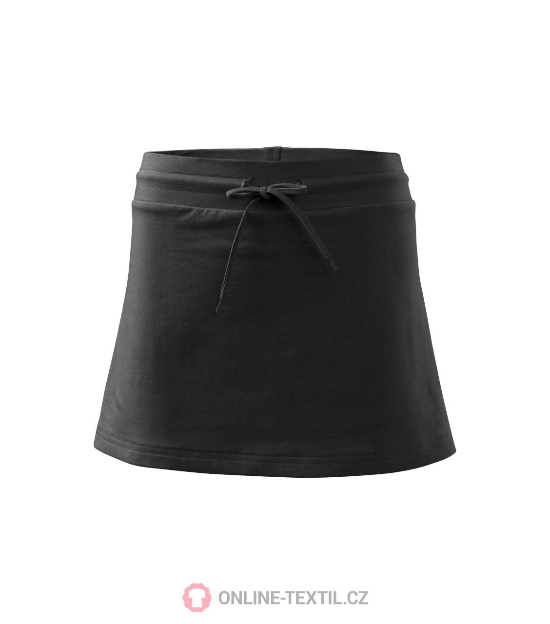 ADLER CZECH Sukně dámská Skirt two in one 604 - černá z kolekce ... 2c3115f4a9