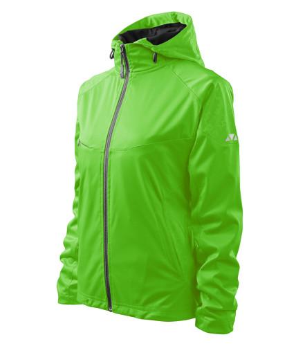 Lehká dámská softshellová bunda Cool s reflexními prvky