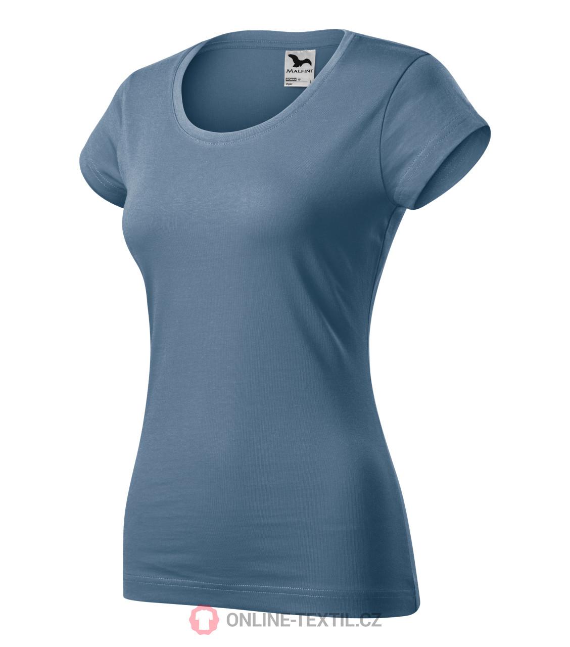 ADLER CZECH Viper tričko dámské vyšší gramáže 161 - denim z kolekce ... 9b872a2b99