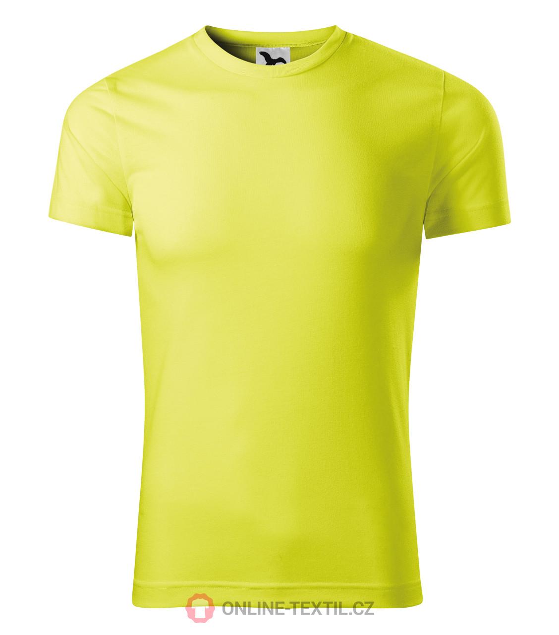 7752b8c80710 ADLER CZECH Sportovní tričko Star unisex 165 - neon yellow z kolekce ...