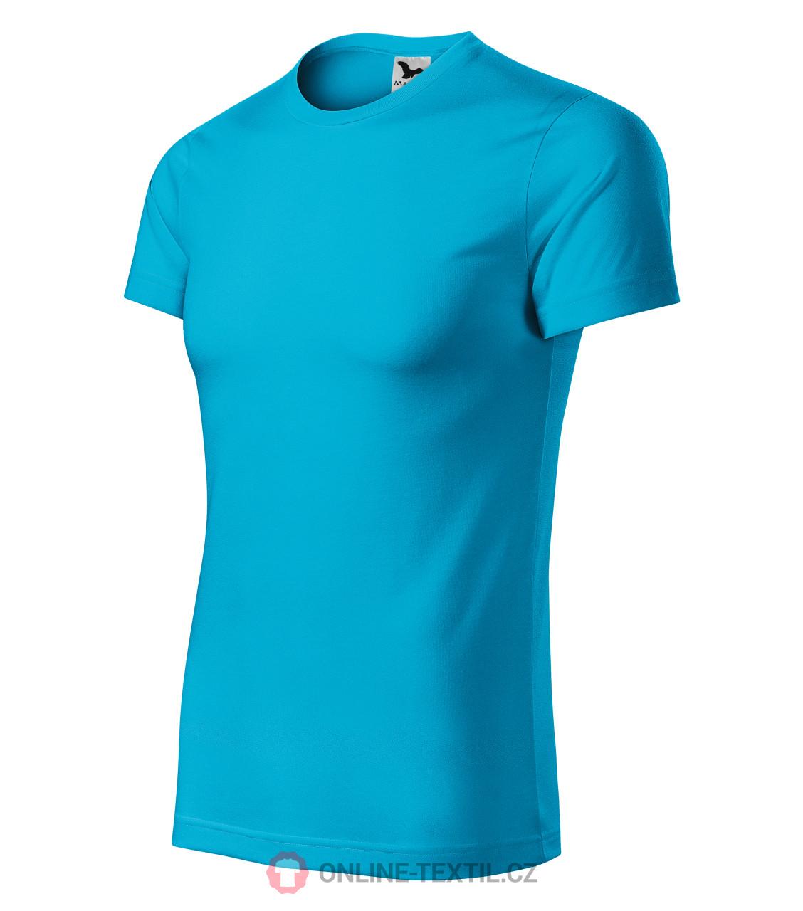 56dd9ebd2dcd ADLER CZECH Sportovní tričko Star unisex 165 - tyrkysová z kolekce ...