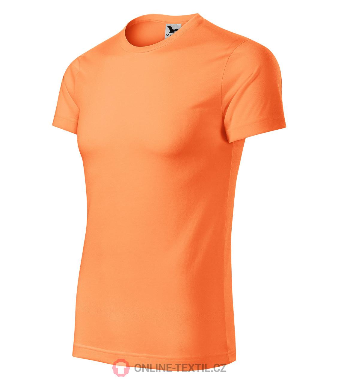 3117d399e05a ADLER CZECH Sportovní tričko Star unisex 165 - neon mandarine z ...